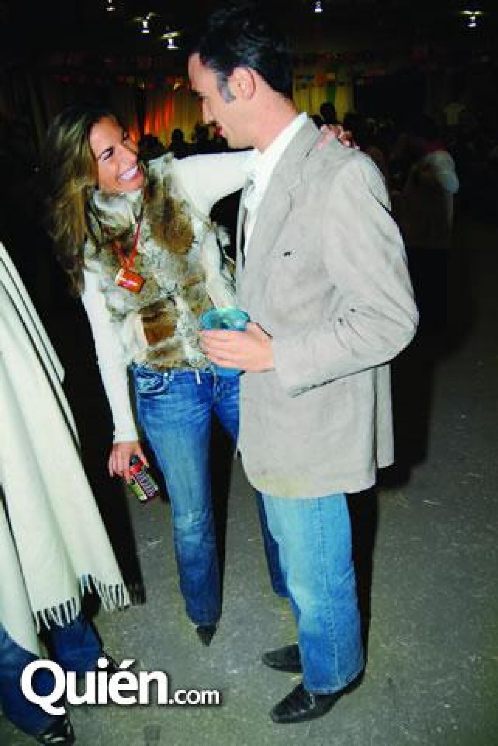 Viviana Martínez y Diego Sánchez