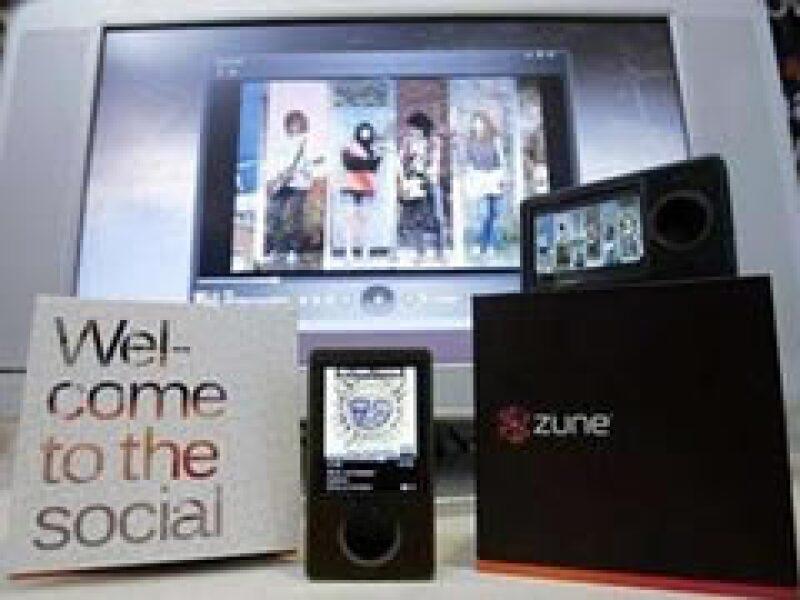 Microsoft lanzará la nueva versión de su reproductor de música Zune a finales de año. (Foto: Archivo)