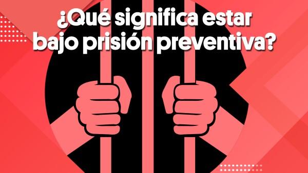 ¿Qué significa estar bajo prisión preventiva? | #Clip