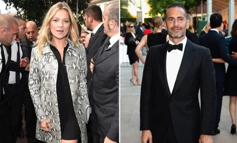 Así se ven actualmente Kate y Marc, ambos, exitosos en sus carreras de moda.