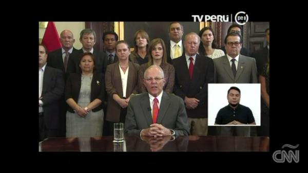 El presidente de Perú es el primer mandatario en renunciar por el caso Odebrecht