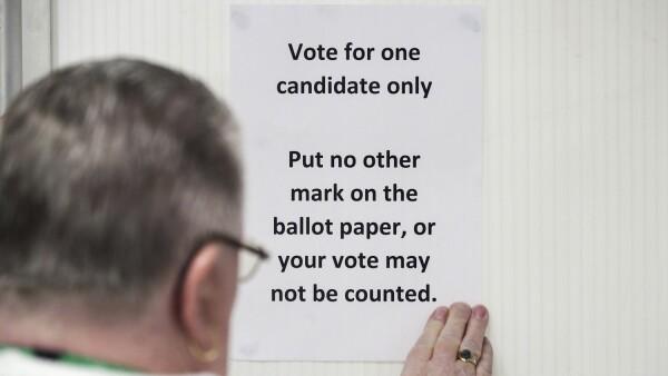 Un sistema electoral lento