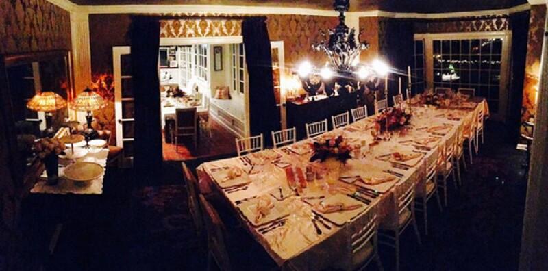 Así lucirá la mesa en la que Kate celebrará Thanksgiving.