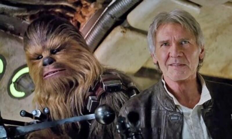 El regreso de Han Solo y Chewbacca ha sido una de las apariciones más destacadas de la nueva saga (Foto: LucasFilm)