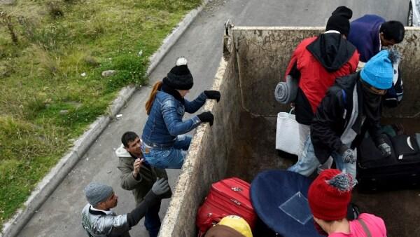 venezolanos Venezuela Ecuador Peru migrantes