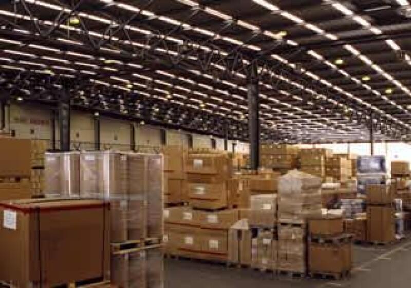 Bodega, almac�n, cajas, mercanc�as,