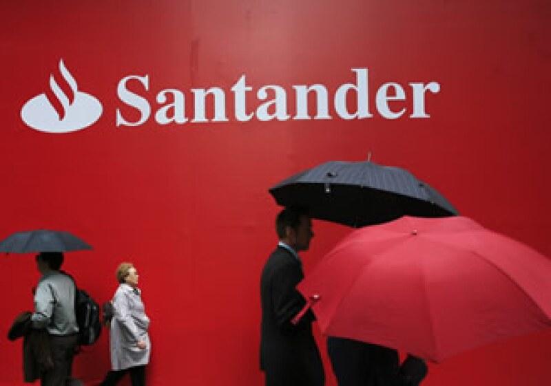 El banco español reportó utilidades superiores al pronóstico de los analistas. (Foto: AP)