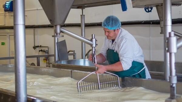 f�brica de leche