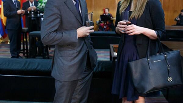 Clement Leclerc y Marcela López Lozano