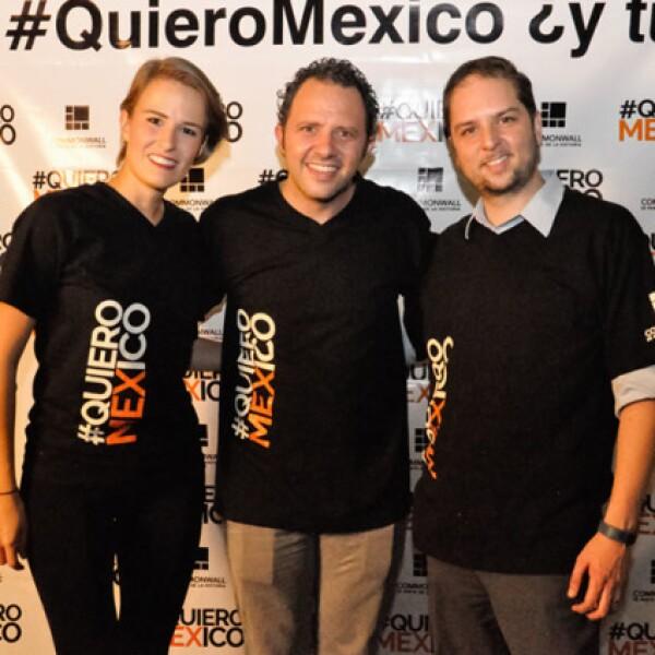 Lucía Junco,Eduardo Gorospe y Manuel del Valle