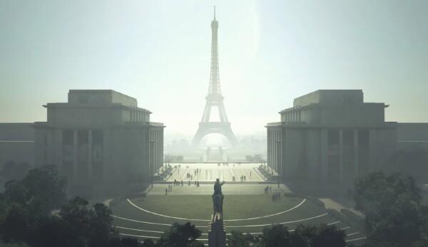 One Line Eiffel