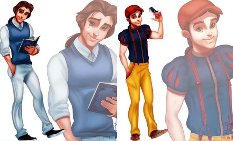 ¿Ben o Bello y Señor Nieves?, publica el ilustrador de manera cómica.