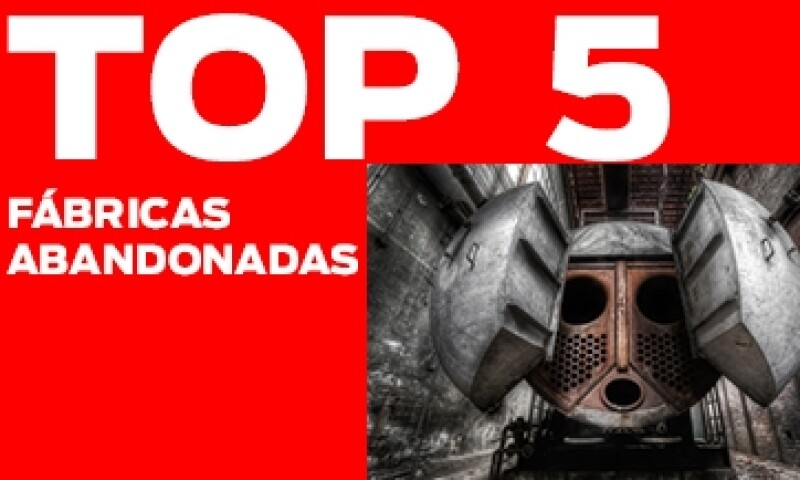 TOP 5 Fabricas abandonadas