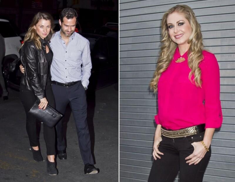 Ludwika Paleta, Emiliano Salinas e Ingrid Martz asistieron a la función.