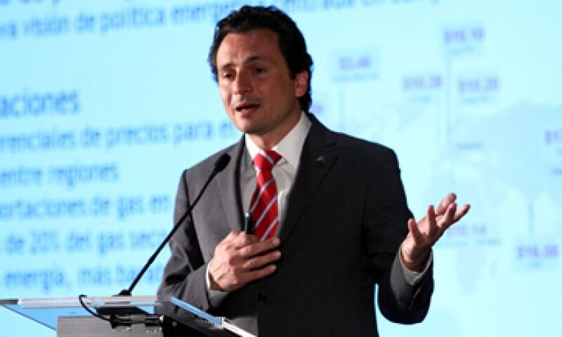 En los negocios es básico encontrar socios estratégicos, dijo Emilio Lozoya. (Foto: Notimex)