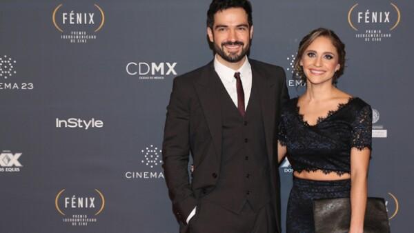 El ex RBD confirmó hoy con una imagen en sus redes sociales que espera un hijo con su novia Diana Vázquez.