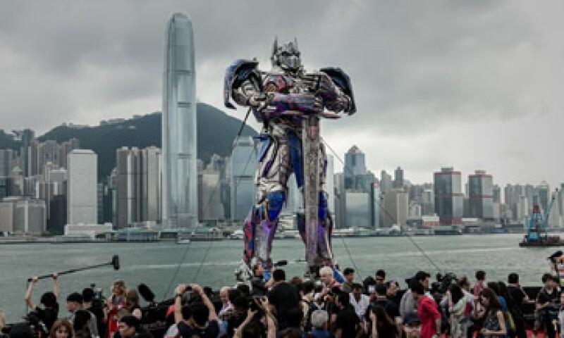 Transformers 4 competirá en siete categorías. (Foto: AFP )