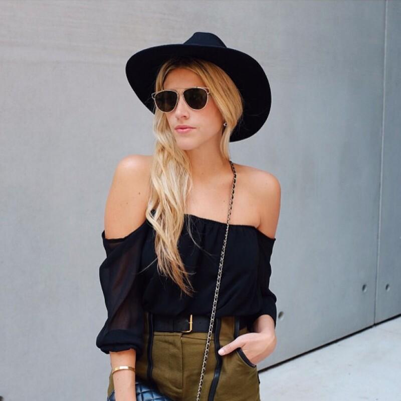 En su blog muestra la moda y viajes que hace día a día con la finalidad de inspirar a sus seguidores.