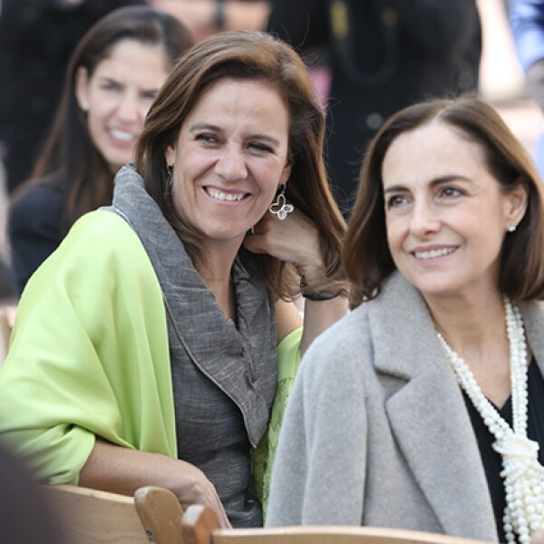 Margarita Zavala y Diana Bracho