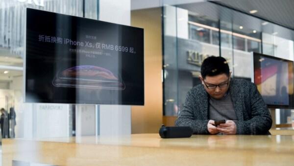 Apple tiene un desalentador pronóstico para China en el último trimestre de 2018