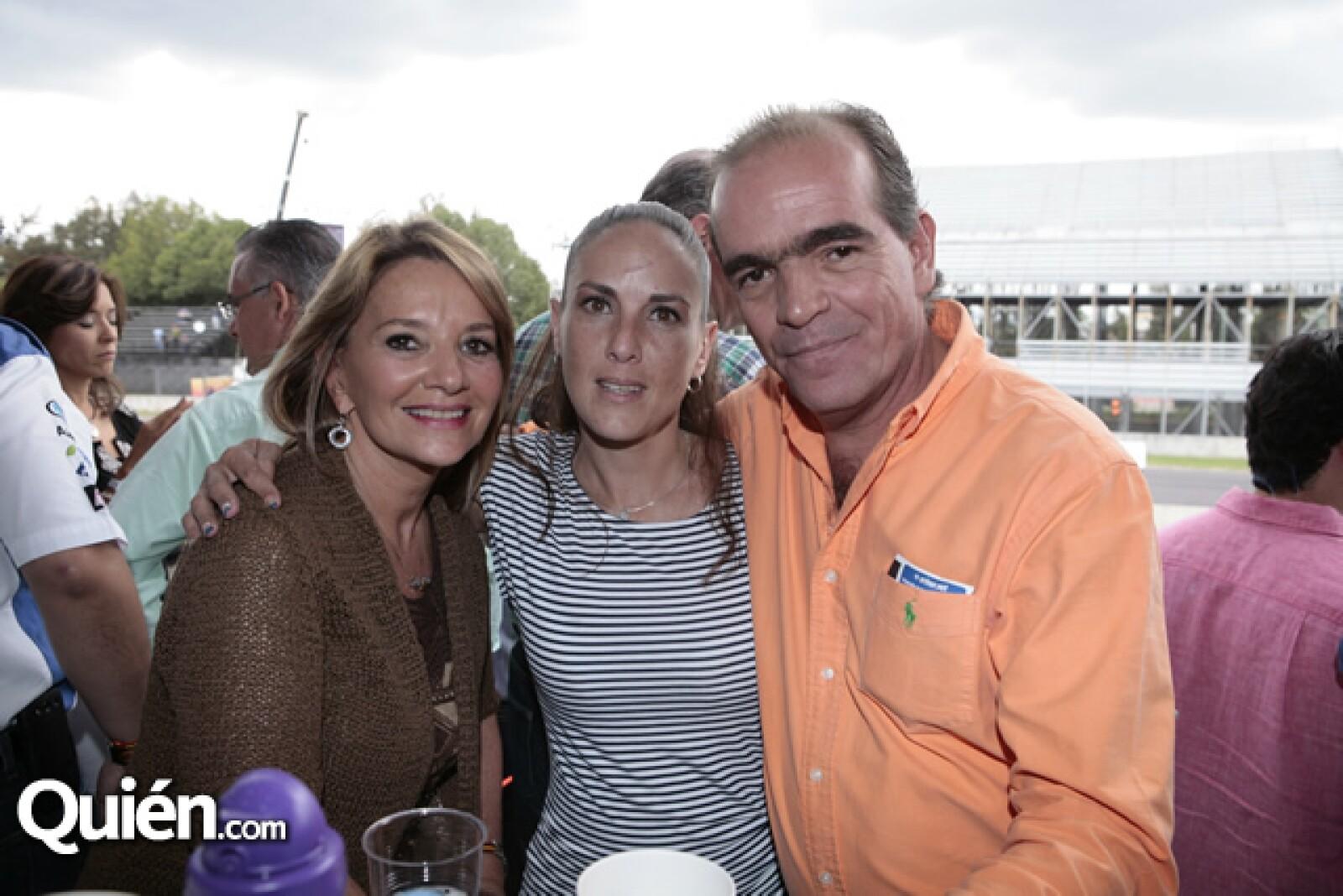 Patricia de Noriega,Alexandra Moguel,Pero Noriega