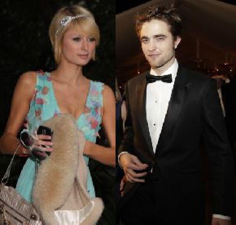 La chica del jet-set no perdió el tiempo durante la fiesta realizada después de los Oscar y se llevó al actor británico a un lugar lejos de los invitados para poder platicar a gusto con él.