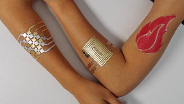 Tatuajes inteligentes en la piel