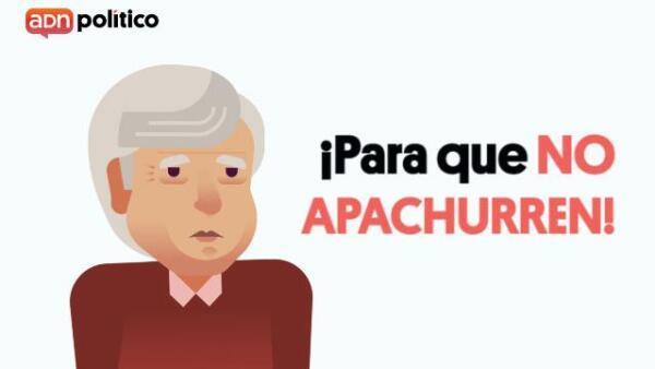 La solución de AMLO a los apachurrones