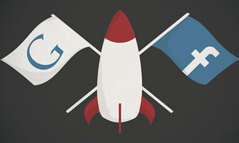 Facebook y Google buscan diversificarse y extender su dominio sobre otras compañías de tecnología. (Foto: Cortesía CNNMoney)