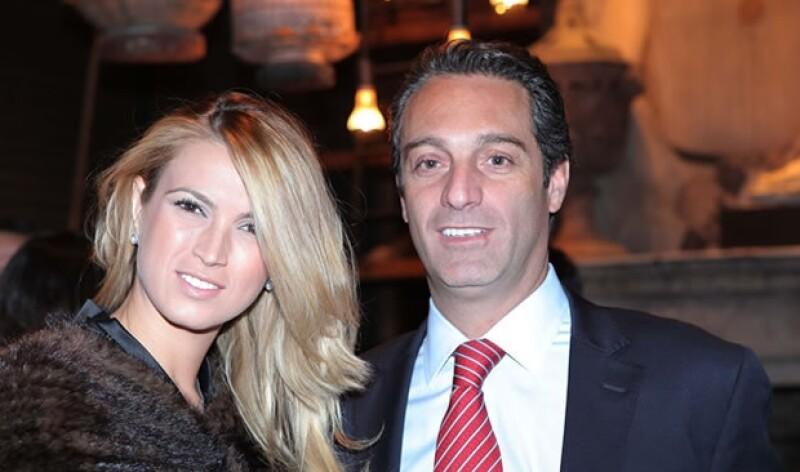 María Elena Torruco y Carlos Slim Domit vieron la carrera por televisión.