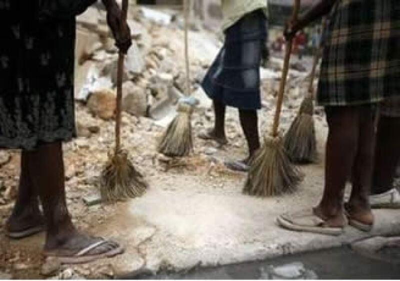 Tras la devastación, Haití busca el orden. (Foto: Reuters)