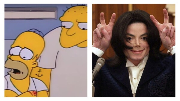 Los Simpson eliminan capítulo de Michael Jackson (Foto: FOX | Getty Images)