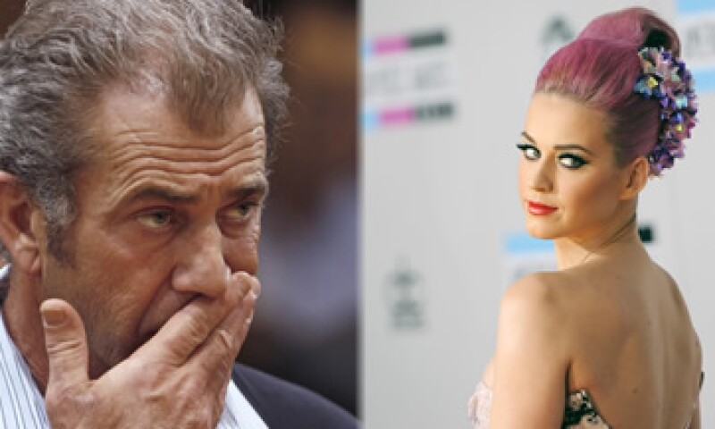 Mel Gibson se casó en 1979 y Katy Perry en 2010. (Foto: Especial)