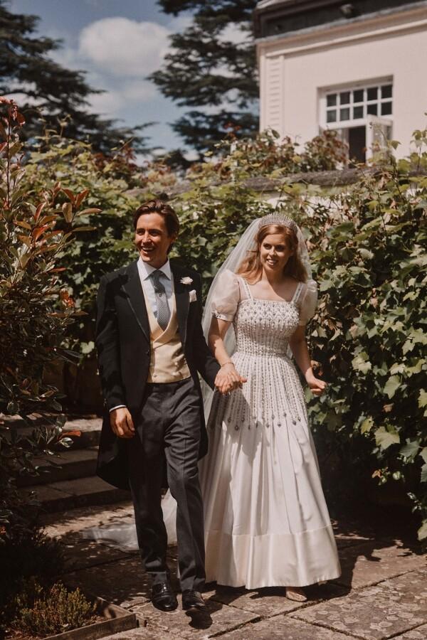 Edoardo Mapelli Mozzi y la princesa Beatriz