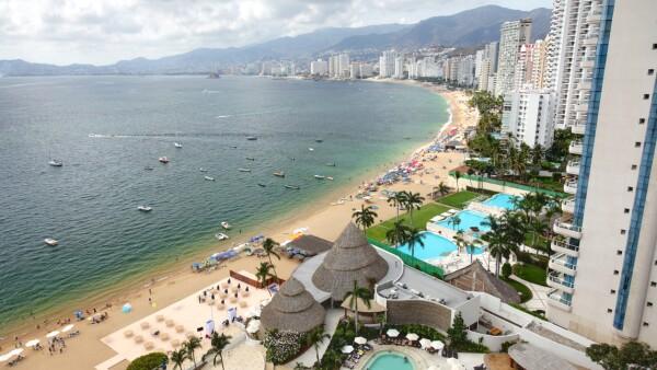 La bahía Acapulco