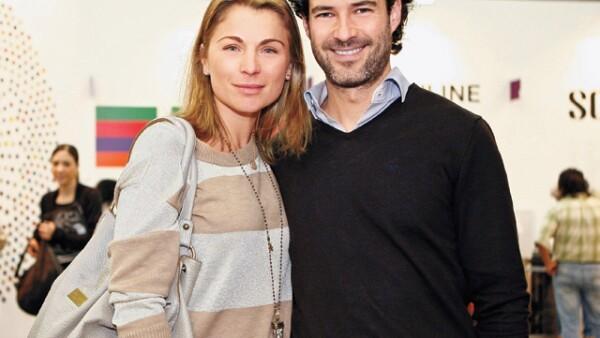 Emiliano y Ludwika iniciaron su relación en el otoño de 2010 y según distintos medios Maky Soler fue quien los presentó en una cita a ciegas.