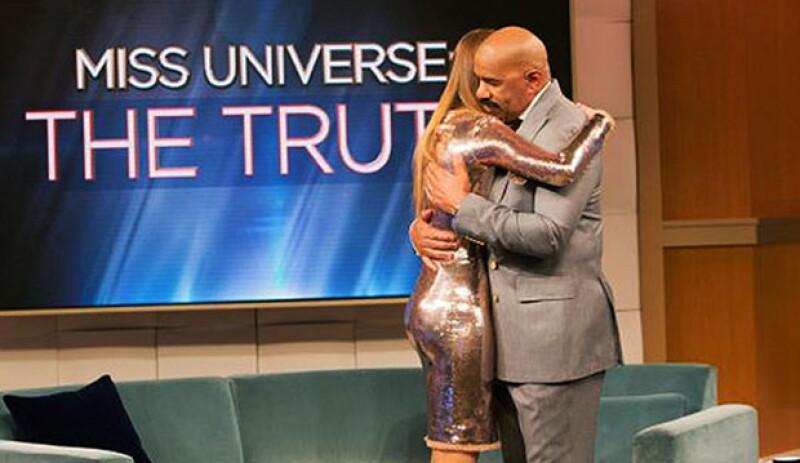 Para el presentador, era muy importante hablar con la Miss para pedirle disculpas y tener un cierre.