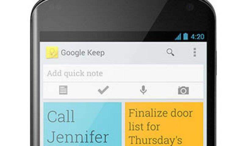 Keep te permite acceder a tu agenda desde una computadora, aparte de tu celular.  (Foto: CNNMoney)