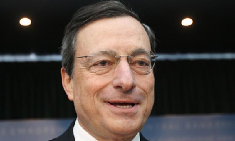 Draghi dijo la semana pasada que el BCE estaba listo para hacer lo que sea necesario, dentro de su mandato, para preservar el euro. (Foto: AP)