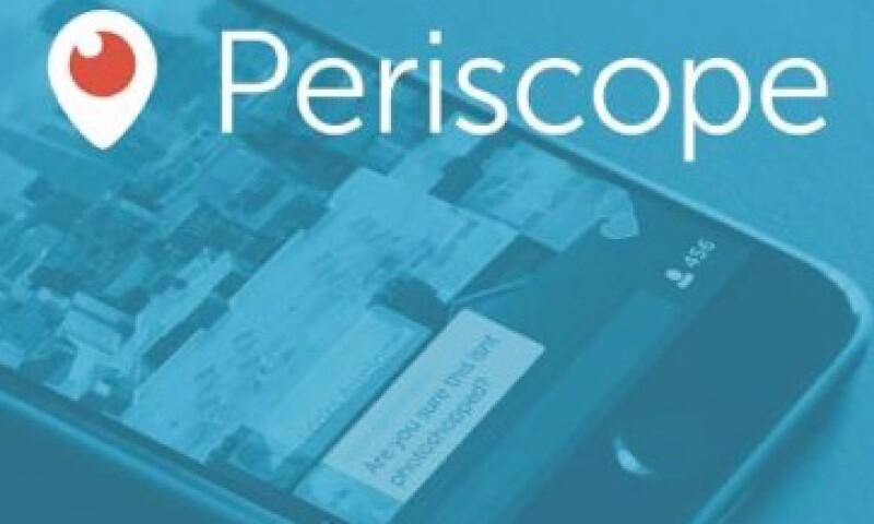 Periscope fue lanzada este año y ha alcanzado más de 10 millones de usuarios. (Foto: Cortesía Periscope )
