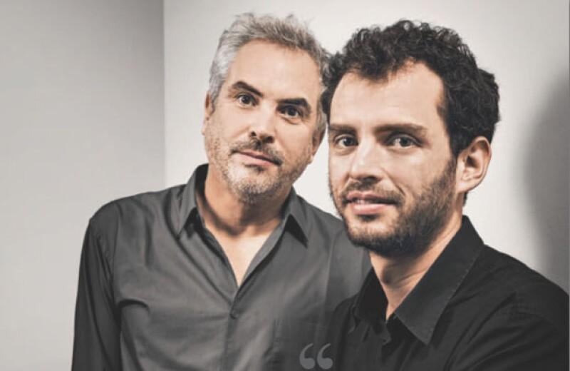 Alfonso y Jonás Cuarón, padre e hijo, apasionados del cine.