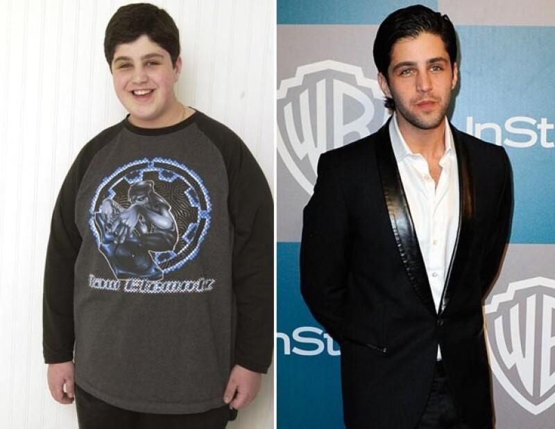 Josh Peck bajó cerca de 50 kilos.