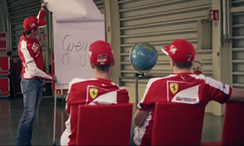 Esteban Gutiérrez es piloto oficial de reserva de Scuderia Ferrari. (Foto: Tomada de Youtube.com/SantanderMex)