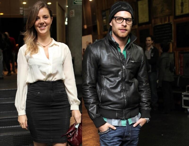 Johanna Murillo acudió al estreno de la obra La Dama de las Camelias. Entre los invitados también estuvo Luis Ernesto Franco.