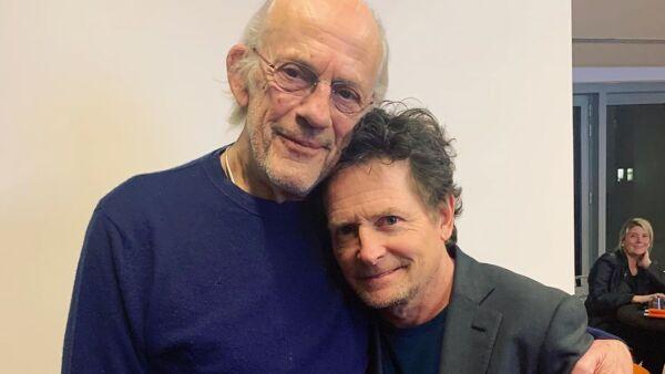 Christopher Lloyd y Michael J. Fox