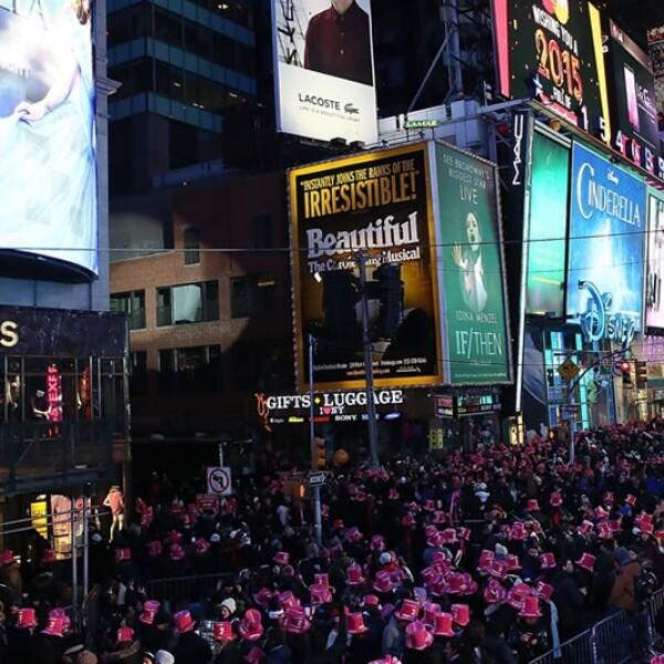 times square año nuevo