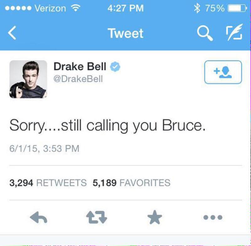 El comentario de Drake antes de ser eliminado de la red social.