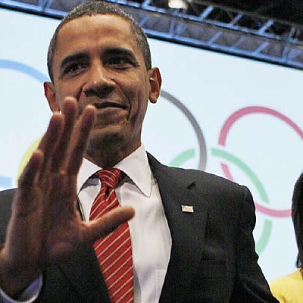 El presidente de EU, Barack Obama, y su esposa Michelle, promovieron sin éxito la candidatura de Chicago 2016 ante el Comité Olímpico Internacional en Copenhague.