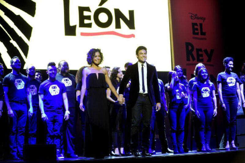 Carlos Rivera y Fela Domínguez, protagonistas del musical.