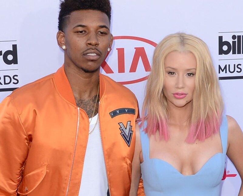 El cumpleaños número 30 del jugador de la NBA Nick Young fue la ocasión ideal para pedirle matrimonio a Iggy, con quien tiene una relación desde hace un año y medio.